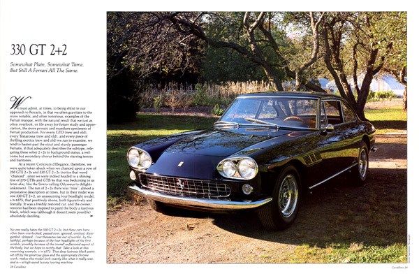 330 GT 2+2 article